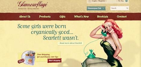 Glamourflage Homepage