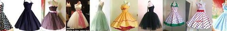 ElaZara Banner Kleider Petticoat