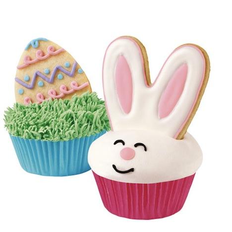 Keksform Cupcake Hase Osterei Ausstecher