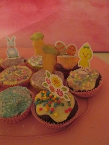 Ostern Backen Muffins Kekse 9