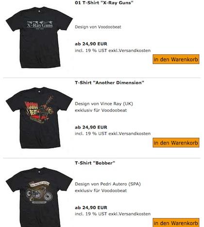 Voodoobeat Maenner Shirts