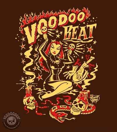 Voodoobeat Motiv Vince Ray Voodoo Witch