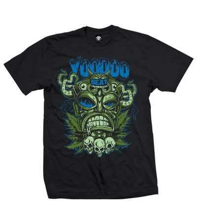 Voodoobeat Shirt Tiki Totem Felix La Flamme