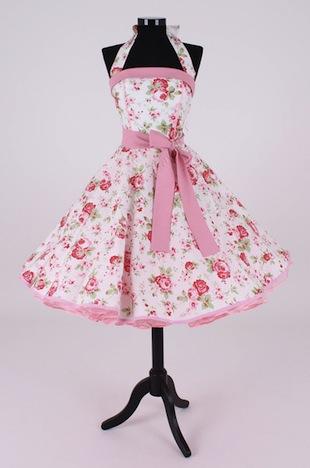 Petticoatkleid Atelier Belle Couture Blumenmuster