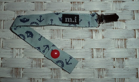 mi design Schnullerband Sailor