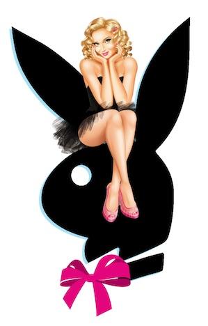 Playboy Play It Pin Up Girl & Bunny