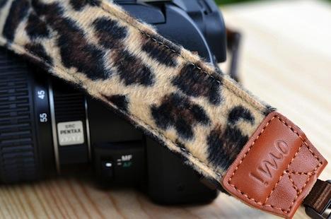 Leopard pattern Kameragurt NE013-01