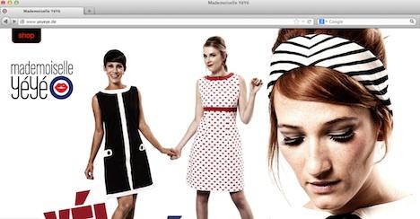 Mademoiselle YéYé Homepage