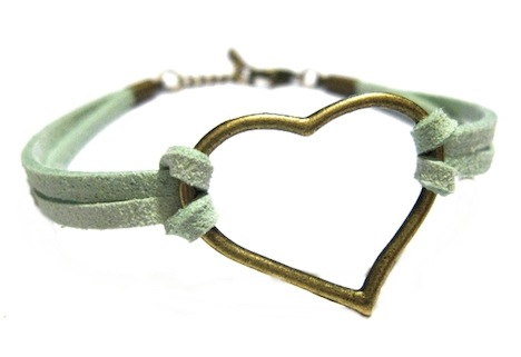 Armband Endless Love Wildleder Mrs Catkin