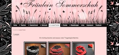 Fraeulein Sommerschuh Homepage