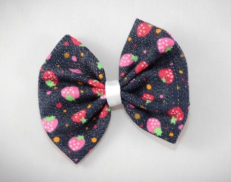Fraeulein Sommerschuh Musthave der Woche Haarschleife Erdbeere