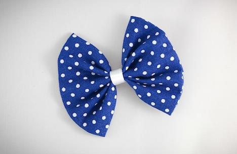 Fraeulein Sommerschuh Musthave der Woche Haarschleife Polka Dot