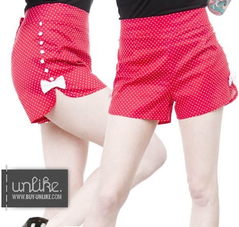 Sourpuss Shorts SWEETIE PIE Dots Buy Unlike