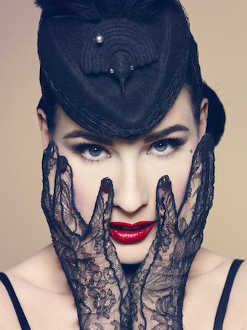 Von Follies by Dita Von Teese head shot web