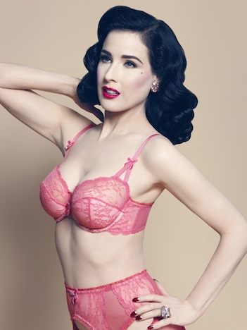 Von Follies by Dita Von Teese leading lady pink web