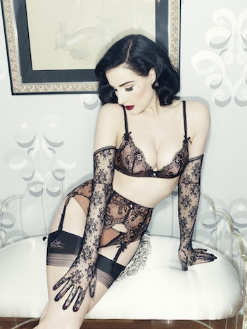 Von Follies by Dita Von Teese savoir faire bra and brief web