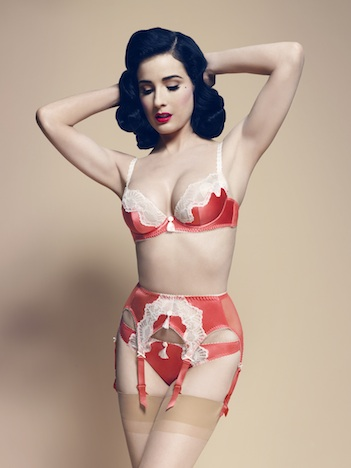 Von Follies by Dita Von Teese star lift watermelon web