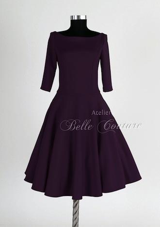 Atelier Belle Couture Petticoatkleid lila