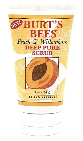 BurtsBees Peach Willowbark Scrub Peeling