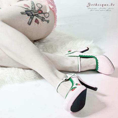 Gothesque Funtasma Shoes Pleaser USA Pumps High Heels Erdbeeren 5