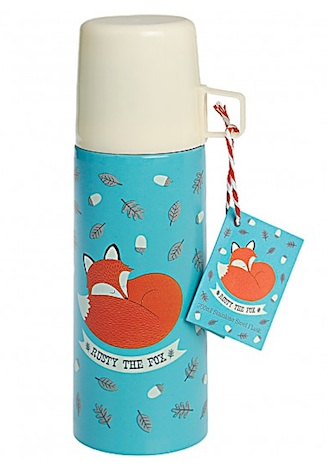 Rusty the Fox Thermosflasche Flaming Star