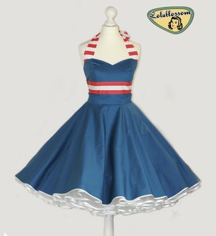 Sailor Style Petticoatkleid Lollablossom