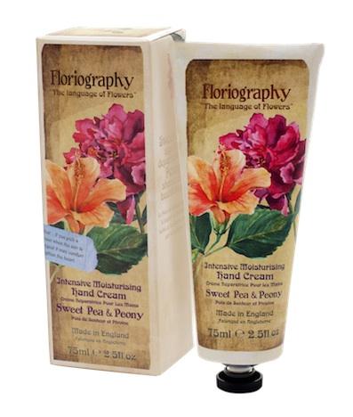 npw np082 handcreme floriography 8331 sweet pea peony