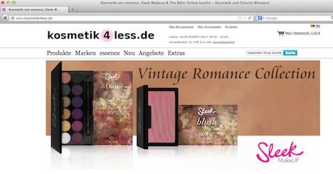 www.kosmetik4less.de Onlineshop