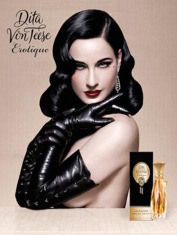 Dita von Teese Erotique Kampagnenbild Eau de Parfum