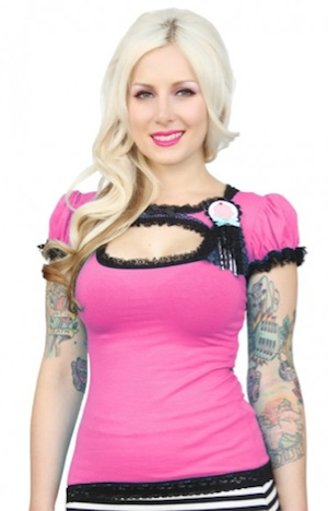 JESSICA LOUISE Top Molly CUPCAKE pink Buy Unlike