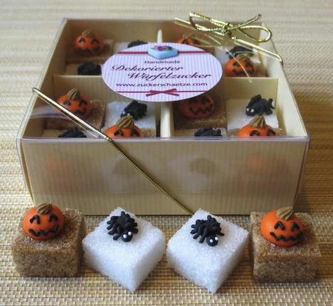 Zuckerschaetze Halloween Spinnen Kuerbis Pumpkin Spider