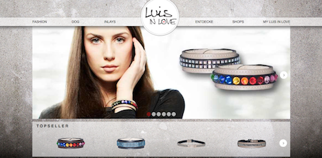 luis in love homepage