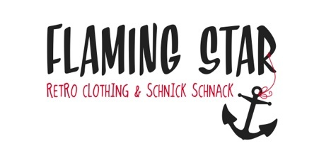 Flaming Star Logo Retro Clothing