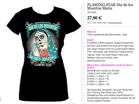 Flaming Star Onlineshop