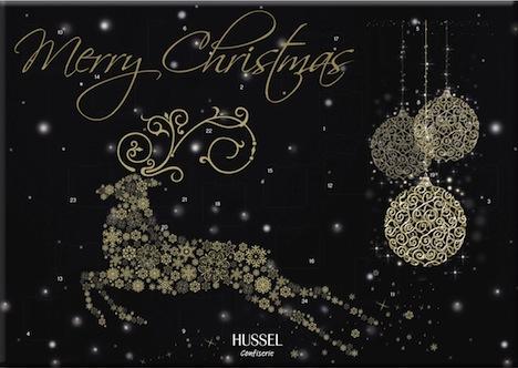 Hussel Confiserie Adventskalender Christmas Glamour