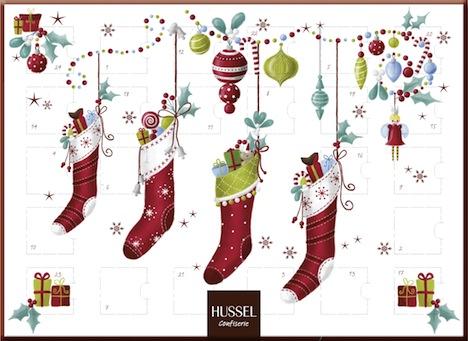 Hussel Confiserie Adventskalender Koestliche Weihnacht