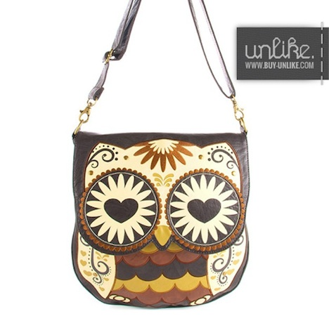 Loungefly Tasche OWL HEART EYES 3