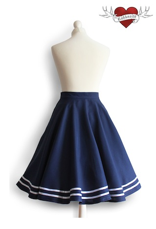 Rossknecht Modedesign Tellerrock Sailor Matrose 2