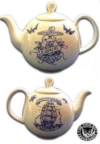 Teekanne Anker Schwalben Sailor