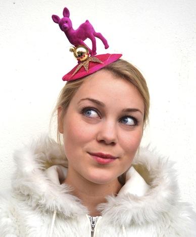 mon bibi Bambi Love Weihnachten Kopfschmuck