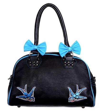 Banned Tasche Handtasche Schwalben Swallow