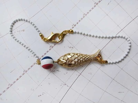 Belle et Bête Armband Fisch 1