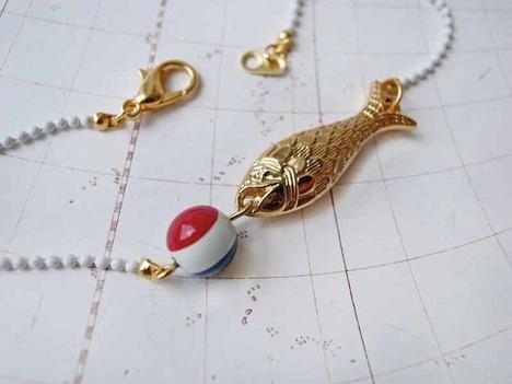 Belle et Bête Armband Fisch 2