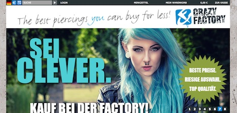 Crazy Factory Homepage 7