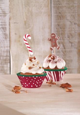 CupCake Deco-Set Candy Christmas RBV Birkmann