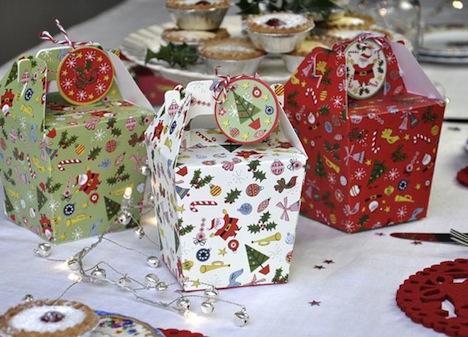 Cupcake Look Geschenkbox Weihnachts Cupcake