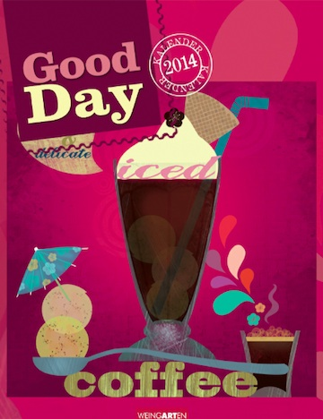 Good Day 2014  Kalender Cover
