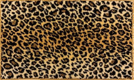 Leopard Badematte Leopard Look