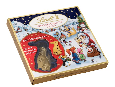 Lindt Winter-Choco-Spass Box mit Ausstechform 7438