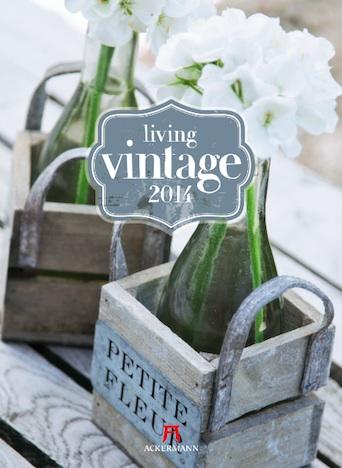 Living Vintage 2014 Kalender Ackermann Verlag Cover